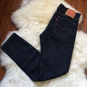 Men's Levi's 510 Dark Blue Skinny Fit Jeans